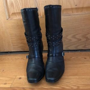 Harley Davidson Leather boots size 10